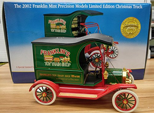 Franklin Mint 2002 Limited Edition 1:54 Scale Christmas Truck