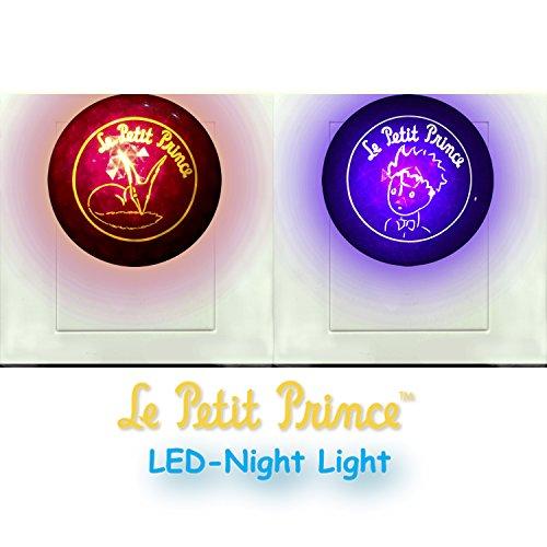 Le Petit Prince Photosensor LED Night Light by Lumitusi (Le Petit Prince x 1pc + Fox x 1pc) ()
