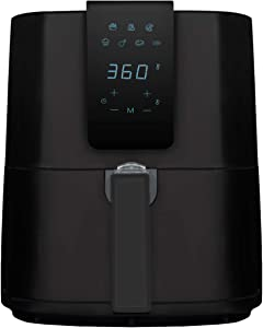 Emerald Air Fryer 1800 Watts w/Digital LED Touch Display & Slide out Pan/Detachable Basket 5.2L Capacity (1804-5.0)