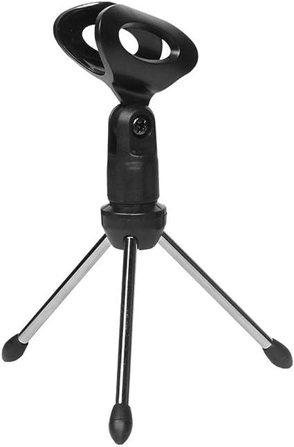 Asisuitable - Trípode para micrófono de Mesa (aleación de Zinc ...