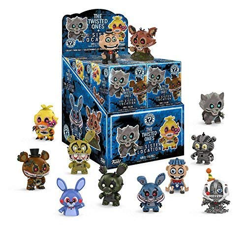 Funko Mystery Mini: Five Nights at Freddy's Series 3 - Twisted Ones & Sister Location Display Box of 12 Action Figures ()