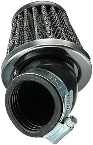 YONGYAO 40Mm 45 Grado Filtro De Aire Negro para 50Cc 110Cc 125Cc 140Cc Pit Dirt Bike Bici De Motor