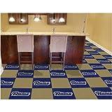 Fan Mats 8562 NFL - St Louis Rams 18'' x 18'' Team Carpet Tiles (10 Logo, 10 Solid per Box - appx 45 sq ft)