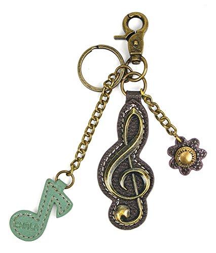 Clef Key - Chala Purse Charm, Key Fob, keychain Decorative Accessories -M602 (Clef)