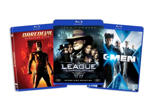 Blu-ray Comic Book Hero Bundle (Daredevil (Director's Cut) / League of Extraordinary Gentlemen / X-Men) (Amazon.com Exclusive)