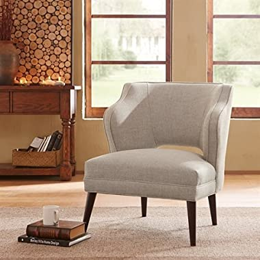 Madison Park Cody Armless Hemp Mod Chair - Natural - See below