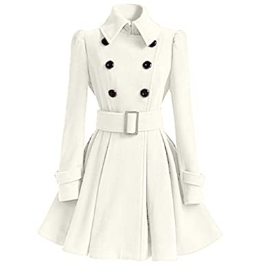 Chic Chic Femme Manteau Femme Blanc Femme Manteau Manteau Blanc Blanc Manteau Chic OXZPukiT