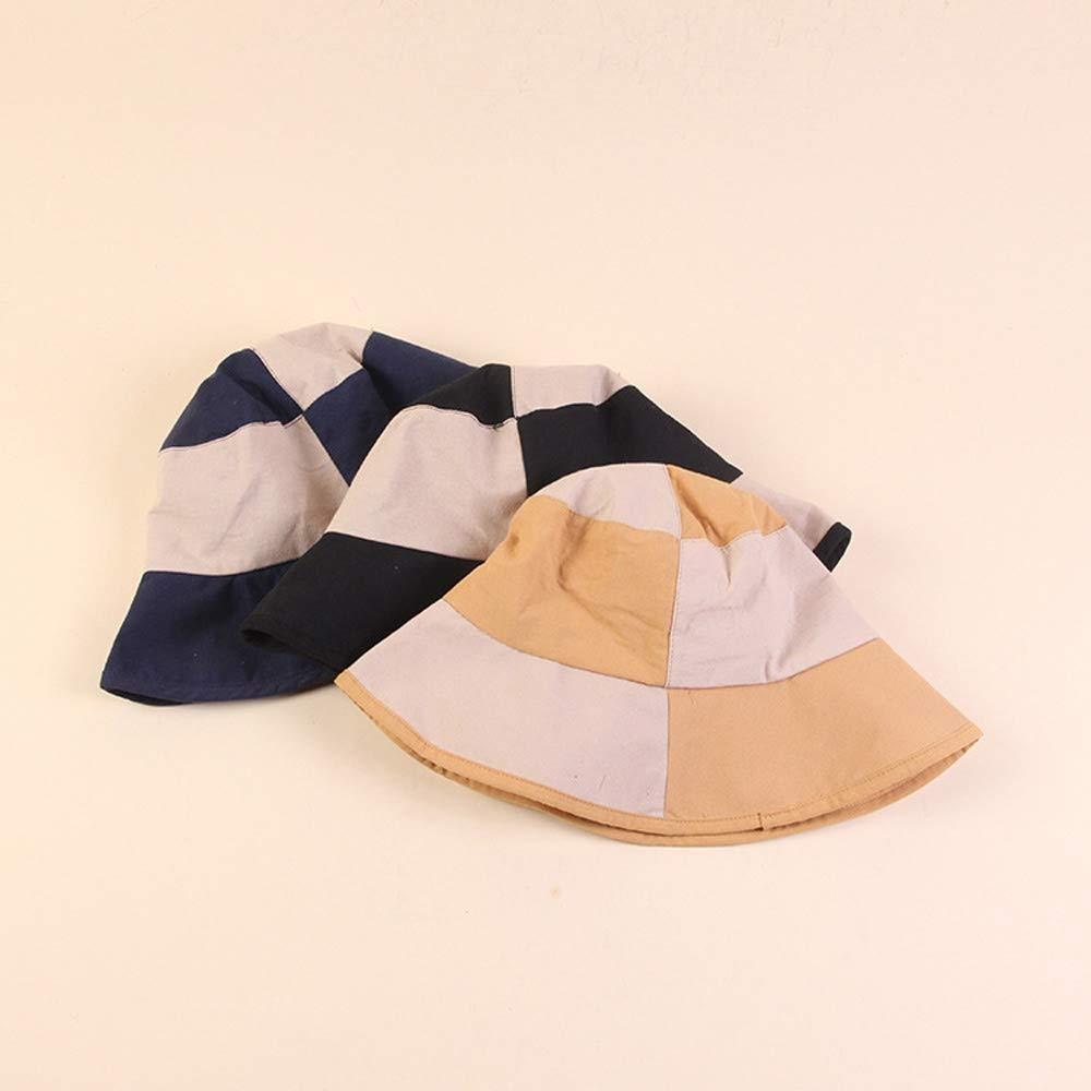 pes Yunbai Sombrero del sombrero del cubo Pescador sombrero del algod/ón del sombrero al aire libre Mujer Cap de pesca deportiva sombrero del sol del sombrero de Hip Hop cuenca del sombrero del visera