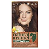 Clairol Natural Instincts Semi-Permanent Hair Color, 1Kit, 6.5R / 16 Spiced Tea Light Auburn Color, Ammonia Free, Lasts 28 Shampoos