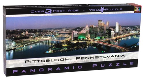 Buffalo Games Pittsburgh Panoramic Puzzle product image