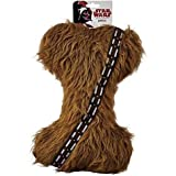 Best Star Wars Chew Toys For Dogs - Star Wars Chewbacca Plush Bone Dog Toy, Large Review