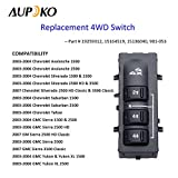 4WD Selector Switch, 4x4 Wheel Drive 3 Button