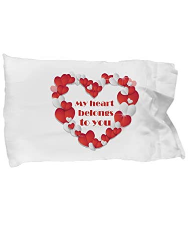 Amazon Com Valentines Day Give A Romantic Pillow Case With Saying