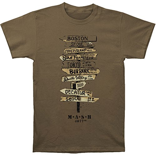 Signs -- MASH Adult T-Shirt