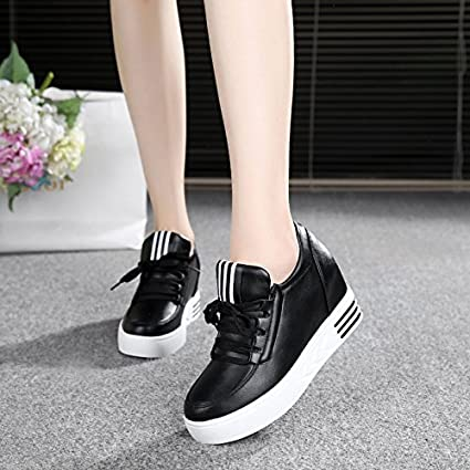 85621eb1dee0 Amazon.com: GTVERNH Women's shoes/Summer/In The Spring 7Cm High ...