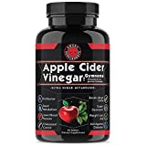 Angry Supplements Apple Cider Vinegar Pills for Weightloss - Natural Detox Remedy Includes Gymnema, Cinnamon, CLAS, and Garcinia for Complete Diet and Health - Best Starter Kit or Gift.