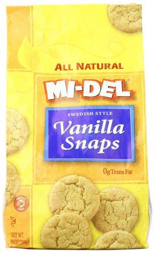 Mi-Del Cookies, Vanilla Snaps, 10 Ounce