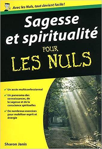 Amazon Fr Sagesse Et Spiritualite Poche Pour Les Nuls