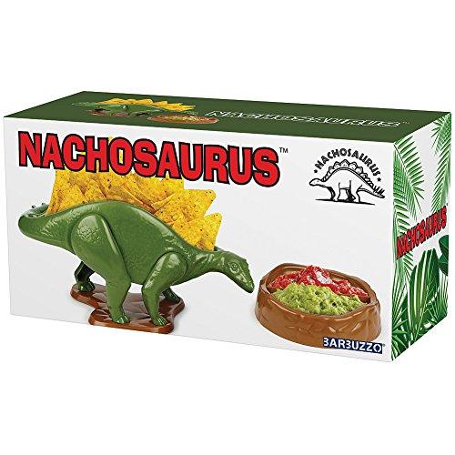 (Set) Nachosaurus w/Dip Bowl & Tacosaurus Rex Holder - Prehistoric Appetite by Barbuzzo (Image #2)