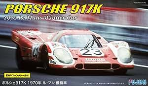 Amazon com: Fujimi 1/24 Porsche 917 1970 Le Mans Winner (Kit