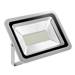 CHUNNUAN LED Flood Light 10/20/30/50/100/150/200/ 300/500W Waterproof, IP65,CE and ROHS Certified Aluminium Strahler 110V (cold white, 200w)