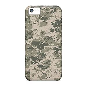 New Snap-on StaceyBudden Skin Cases Covers Compatible With Iphone 5c- Digital Camo