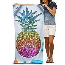 Richmond Takila Pinneapple Travel Beach Towel Mens Beach Towel - 30 X 50-Inch Ultra Portable, Lightweight Great For The Pool And The Beach
