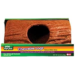 United Pet Group P-E12205 Bird Chewable Log Hideout, Large