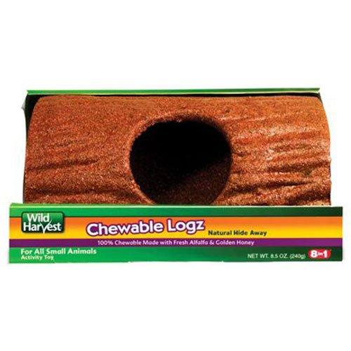 (United Pet Group P-E12205 Bird Chewable Log Hideout, Large)