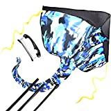 #5: Ai-do Blue Camouflage Kite for Family The Best Outdoor Education Toys - Easy to Assemble - Beginner Kite - Instruction Manual in English