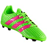 Adidas Performance Ace 16.4 Fxg J Soccer Shoe (toddler/little Kid/big Kid),green/shock Pink/black,6 M Us Big Kid | amazon.com