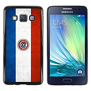 Be Good Phone Accessory // Dura Cáscara cubierta Protectora Caso Carcasa Funda de Protección para Samsung Galaxy A3 SM-A300 // National Flag Nation Country Paraguay