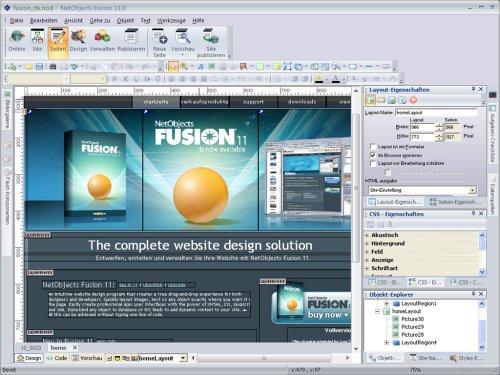netobjects fusion 11