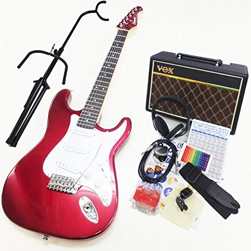 エレキギター 初心者セット 入門セット Legend レジェンド LST-Z/CACA VOXアンプ付13点セット B00LCV1PJQ