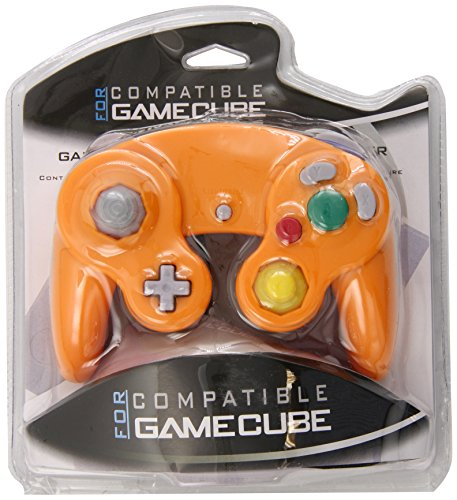 Generic Orange Spice Controller Pad Gamecube