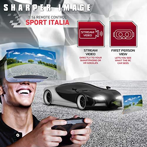 Sharper Image Toy Rc Italia Sports Car 116 Scale Luxury Cars
