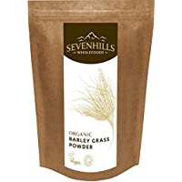 Sevenhills Wholefoods Organic European Barley Grass Powder 1kg