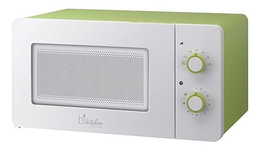 bkitchen Microondas Mini 150 plateado: Amazon.es: Hogar