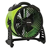 XPOWER FC-200 Pro Air Circulator, Carpet Dryer, Floor Fan, Blower – 13″ Diameter Multipurpose Heavy-Duty Portable Shop Fan Review