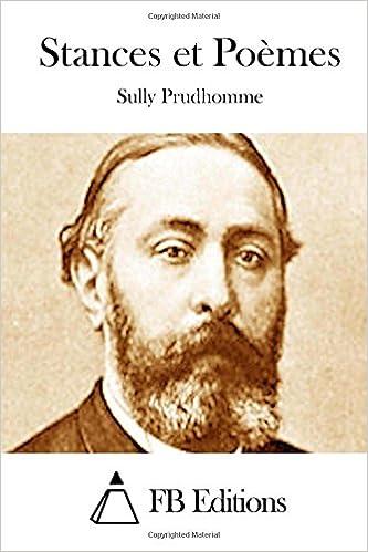 Stances Et Poèmes Amazones Sully Prudhomme Fb Editions