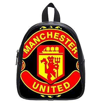 amazon com manchester united manutd mufc logo school bag baby rh amazon com man utd logo wallpaper 512x512 logo man utd