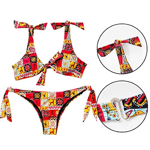 Gtfhuh Esotici Donne Cravatta Bohemien Ragazza Donna Costumi Da Bagno Per Bikini Costume gvwYR8rqg