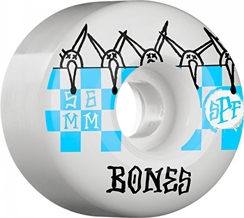 Bones Wheels Tiles 56mm Skatepark Formula Skateboard Wheels 84B [P2]