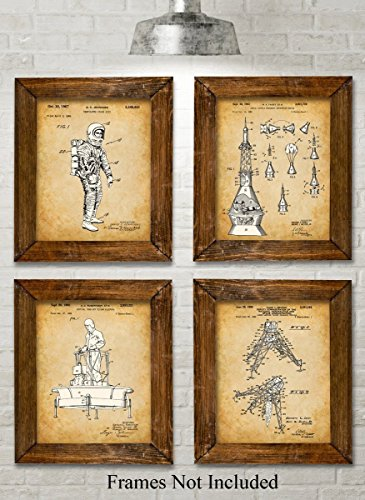 original-nasa-patent-art-prints-set-of-four-photos-8x10-unframed-great-gift-for-space-fans-and-astro