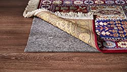 Great Grip Dual Surface Premium Rug Pad 12 Feet By 18 Feet (Non Slip-Non Skid: Keeps Rug in Place)