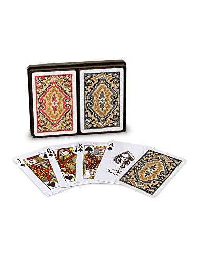 Blue, Bridge Size-Jumbo Index Playing Cards (Pack of 2) ()