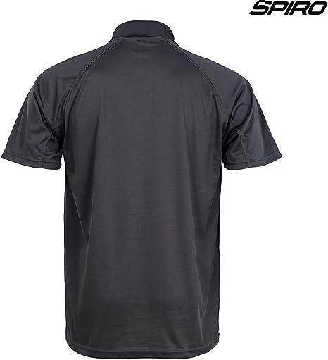 Spiro Unisex Impact Aircool Sports Gym Fitness  Running Cycling T-Shirt Top Tee