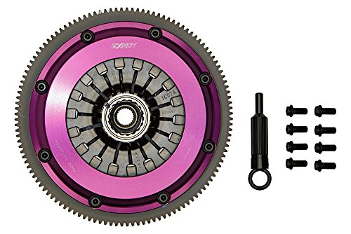 Exedy Twin Plate Carbon (EXEDY FM022HDMC1 Twin Carbon-D Clutch Sprung Center Disc Pull Type)