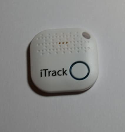 Itrack Easy 2 signalocking Bluetooth Locator Tracker Anti-Lost Key Finder (White)