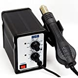 BK-858A SMD Brushless Heat Gun Hot Air Rework Station with Stand 110V 700W